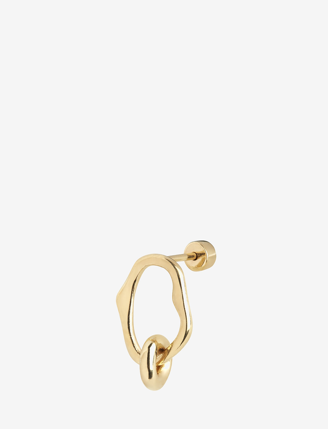 Maria Black - Midnight Mini Earring - korvarenkaat - gold hp