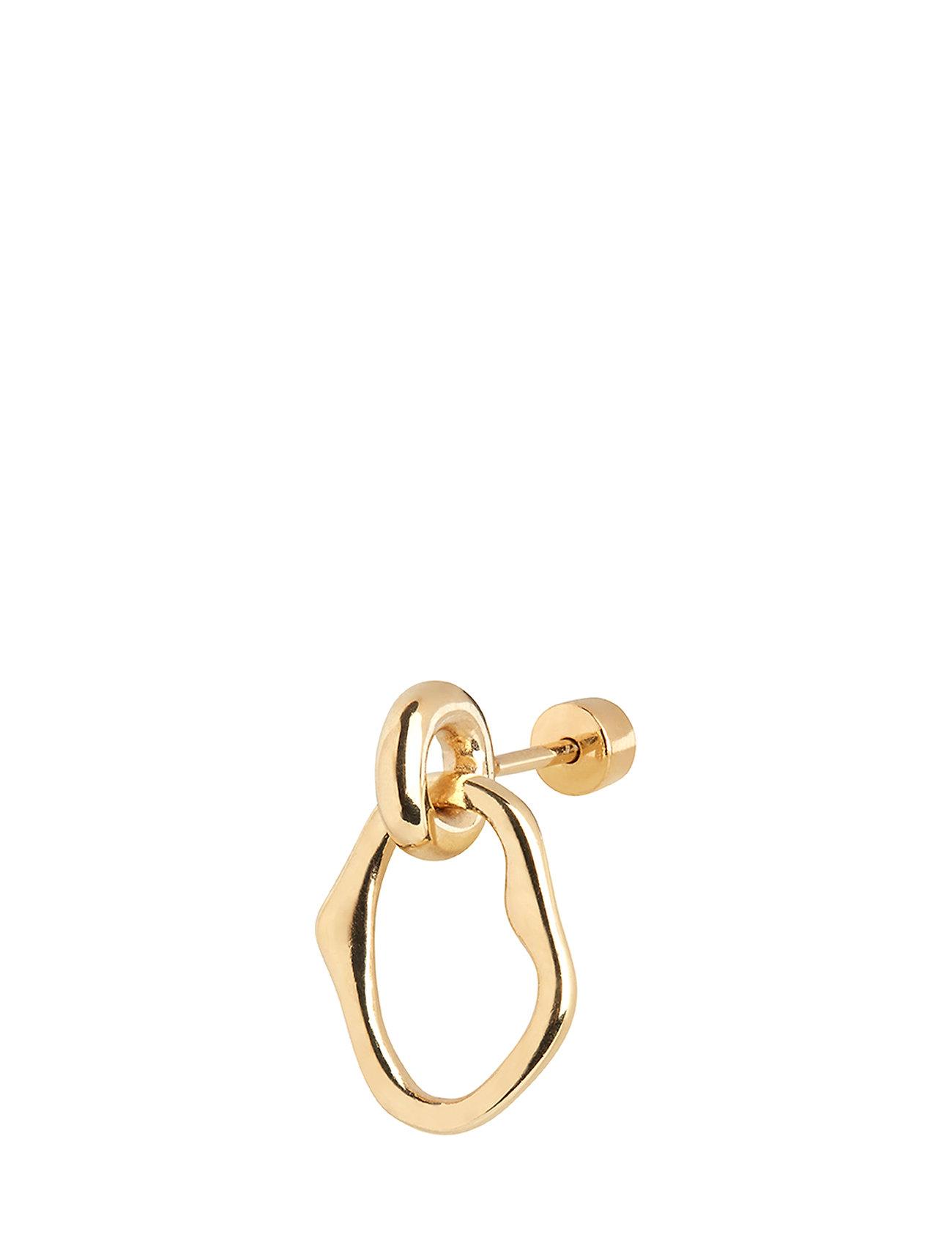 Maria Black - Noon Mini Earring - korvarenkaat - gold hp