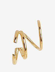 Maria Black - Bell Twirl Earring - gold hp - 1