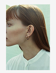 Maria Black - Disrupted 22 Earring - creoler - silver hp - 2