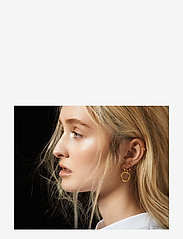 Maria Black - Dogma Earring - statement-korvakorut - gold hp - 2