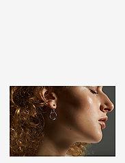 Maria Black - Dogma Earring - pendant - silver hp - 2
