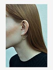 Maria Black - Delicate Hoop 26 Earring - korvarenkaat - gold hp - 1
