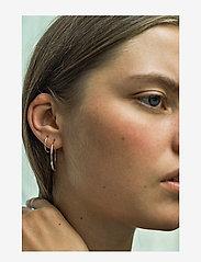 Maria Black - Delicate Hoop 26 Earring - korvarenkaat - silver hp - 1