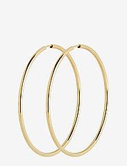 Maria Black - Sunset Hoop 50 *PAIR - korvarenkaat - gold hp - 0
