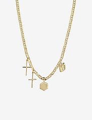 Maria Black - Stories Necklace - sirot kaulakorut - gold hp - 0