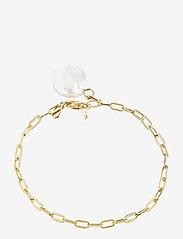 Maria Black - Alessandria Bracelet Gold HP - dainty - gold - 0