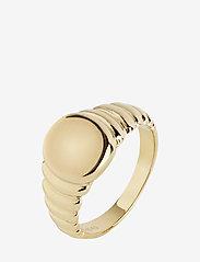 Maria Black - Wave Ring - sormukset - gold hp - 0