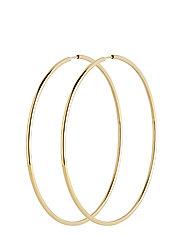 Sunset Hoop 70 *PAIR - GOLD HP