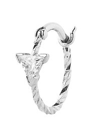 Viper Earring - 14K WHITE GOLD