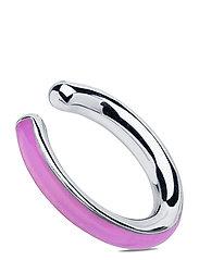 Cindy Ocean Ear Cuff Silver HP - SILVER HP/LILAC