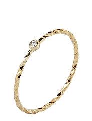 Jabari Gold Ring Ring Smykker Gull MARIA BLACK