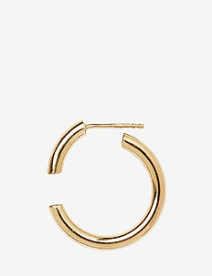Disrupted 22 Earring - hoops - gold hp