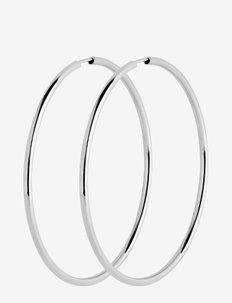 Senorita 50 Hoop - hoops - silver hp