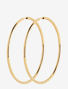 Senorita 50 Hoop - hoops - gold hp