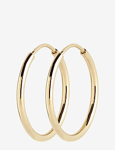 Sunset Hoop 25 *PAIR - GOLD HP