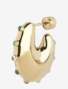 Caramella Earring Mint Gold HP - hopen - gold hp