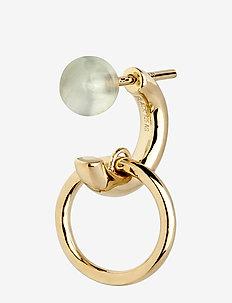 Elvira Earring - Gold HP - studs - gold hp