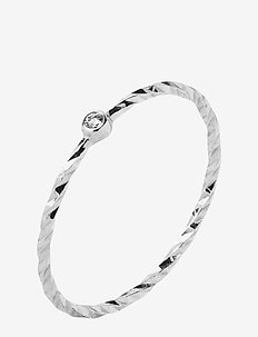 Jabari White Gold Ring - 14K WHITE GOLD WHITE RHODIUM