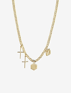 Stories Necklace - dainty necklaces - gold hp
