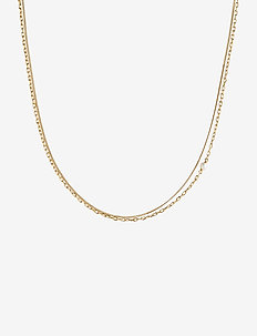 Cantare Necklace - dainty necklaces - gold hp