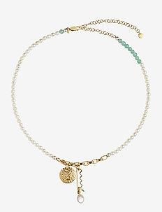 Verona Necklace - dainty necklaces - gold hp