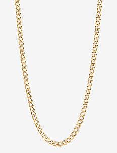 Forza Necklace 43 - halskæder - gold hp