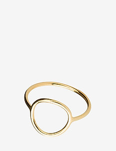 Monocle Ring - medium circle - GOLD HP