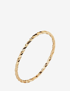 DC Gold Ring - 14K YELLOW GOLD