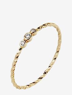 Jessa Gold Ring - 14K YELLOW GOLD