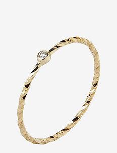 Jabari Gold Ring - 14K YELLOW GOLD