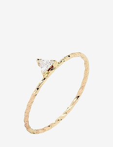 Viper Ring - 14K YELLOW GOLD