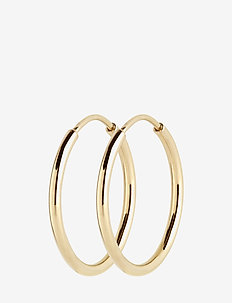 Senorita 25 Hoop - PAIR - hoops - gold hp