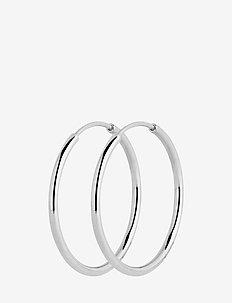 Senorita 20 Hoop - PAIR - hoops - silver hp