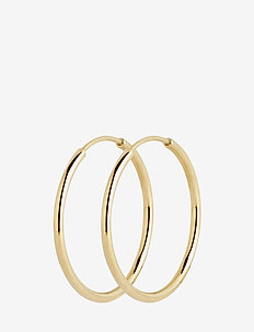 Senorita 20 Hoop - PAIR - hoops - gold hp