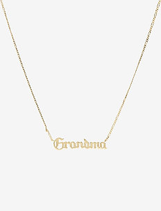 Grandma Necklace - GOLD HP