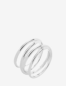 Auguste Wrap Ring - SILVER HP