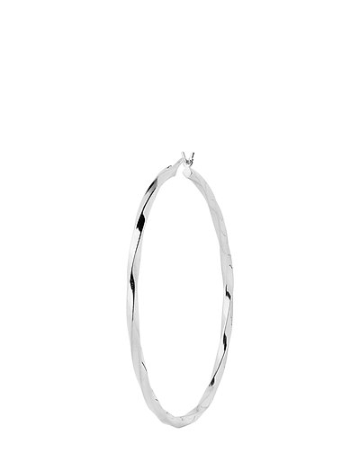 Francisca Hoop Large Earring - SILVER HP