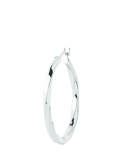 Francisca Hoop Small Earring - SILVER HP
