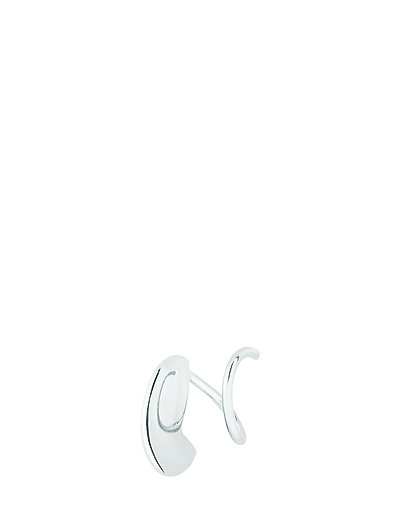Mary Twirl Earring - SILVER HP