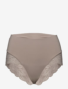 Color Studio Lace High Brief - broekjes - patine