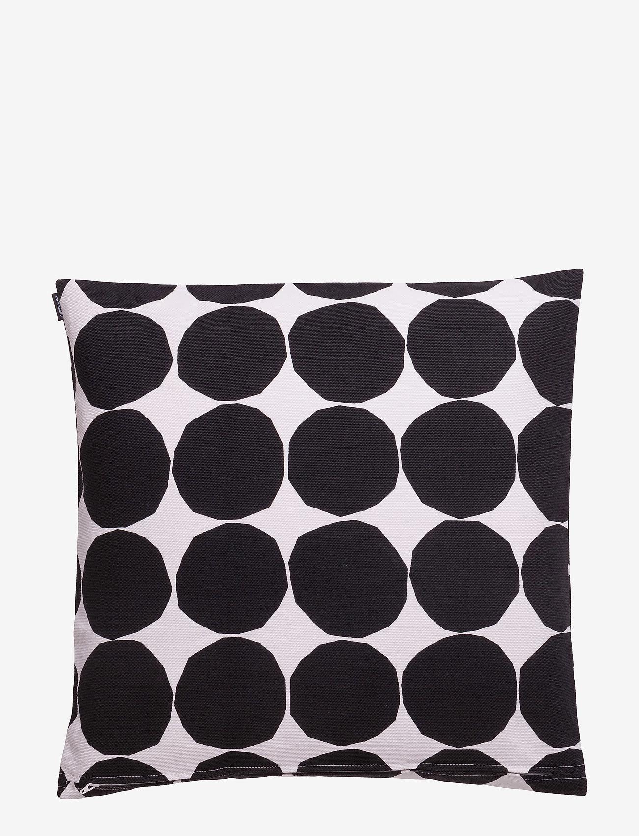 Marimekko Home - PIENET KIVET CUSHION COVER - pudebetræk - white,black
