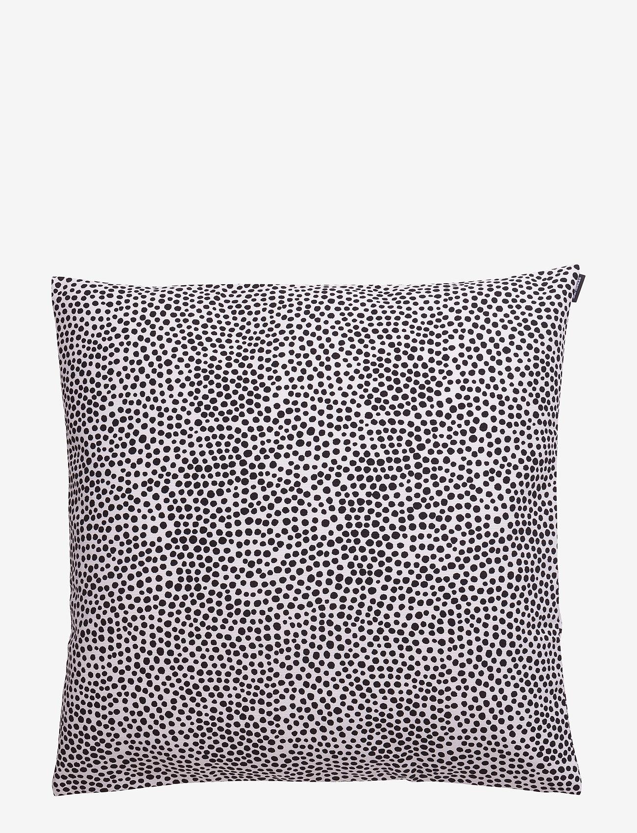 Marimekko Home - PIRPUT PARPUT CUSHION COVER - poszewki na poduszki ozdobne - white,black - 0