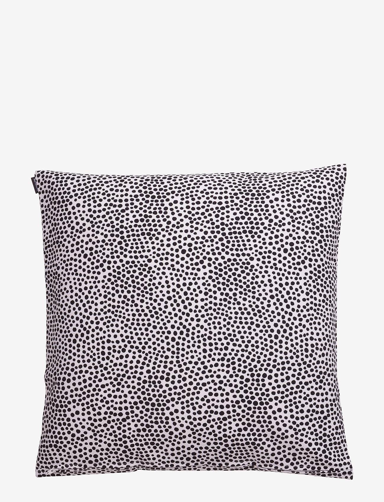 Marimekko Home - PIRPUT PARPUT CUSHION COVER - poszewki na poduszki ozdobne - white,black - 1