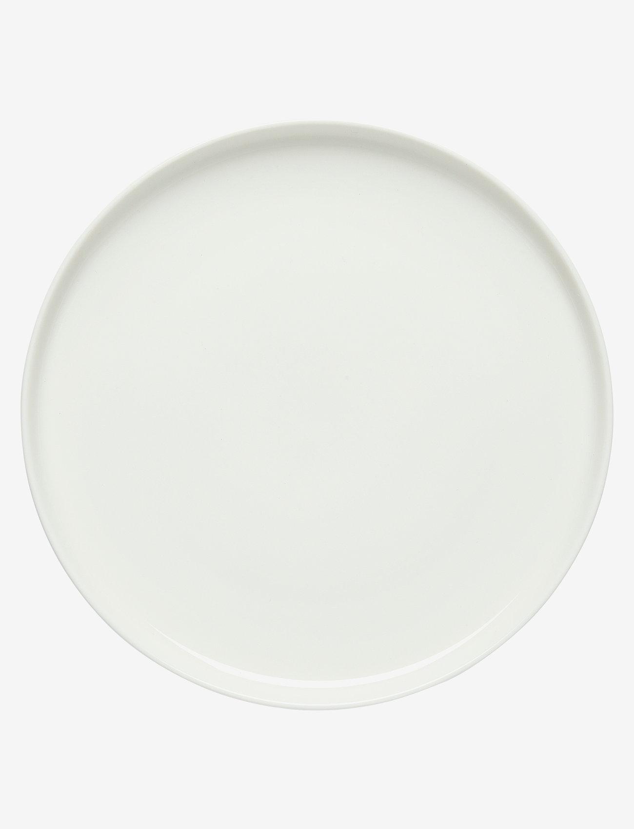 Marimekko Home - OIVA PLATE - middagstallerkner - white - 0