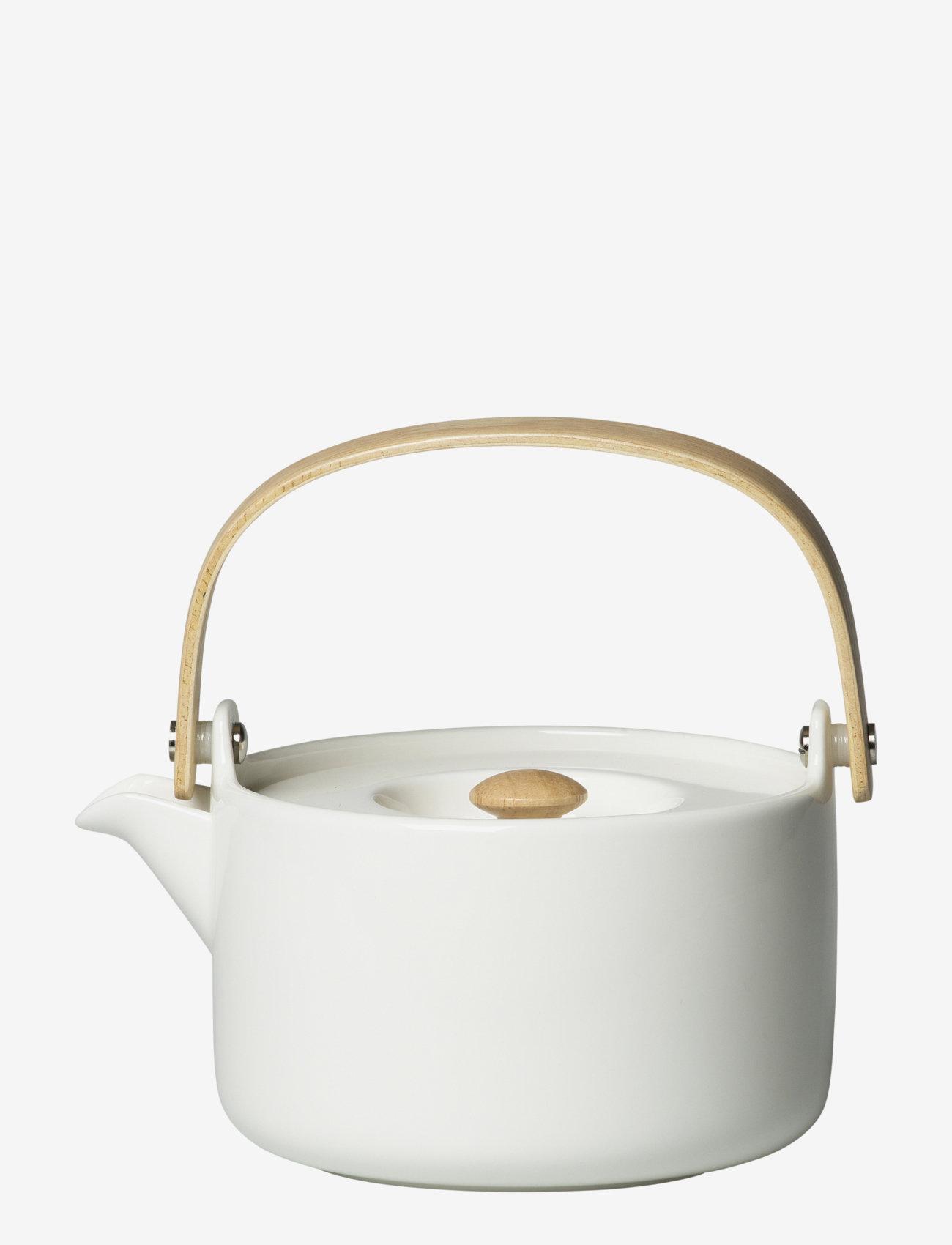 Marimekko Home - OIVA TEAPOT 7DL - tekander - white - 0