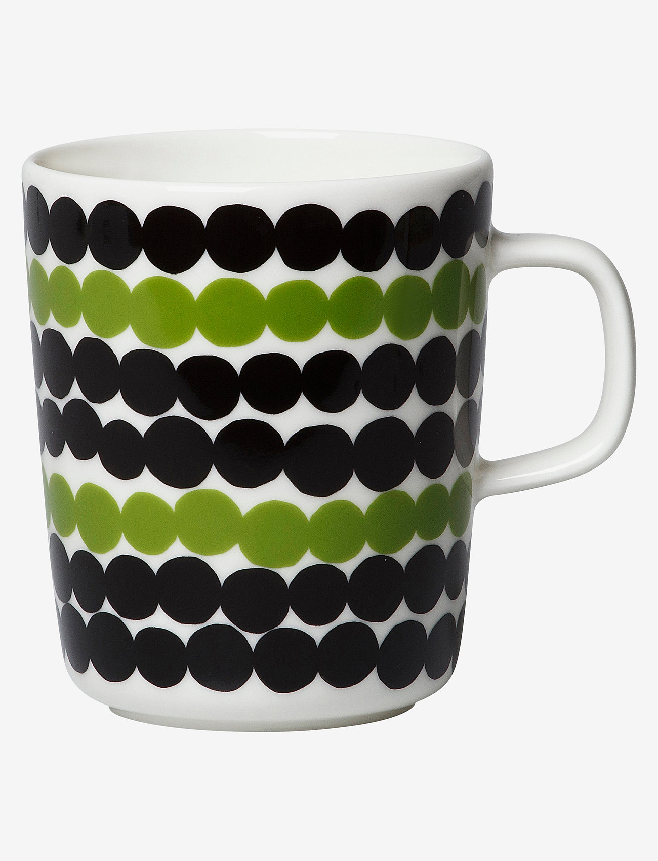 Marimekko Home - SIIRTOLAPUUTARHA MUG 2,5DL - kaffekopper - white, black, green - 0