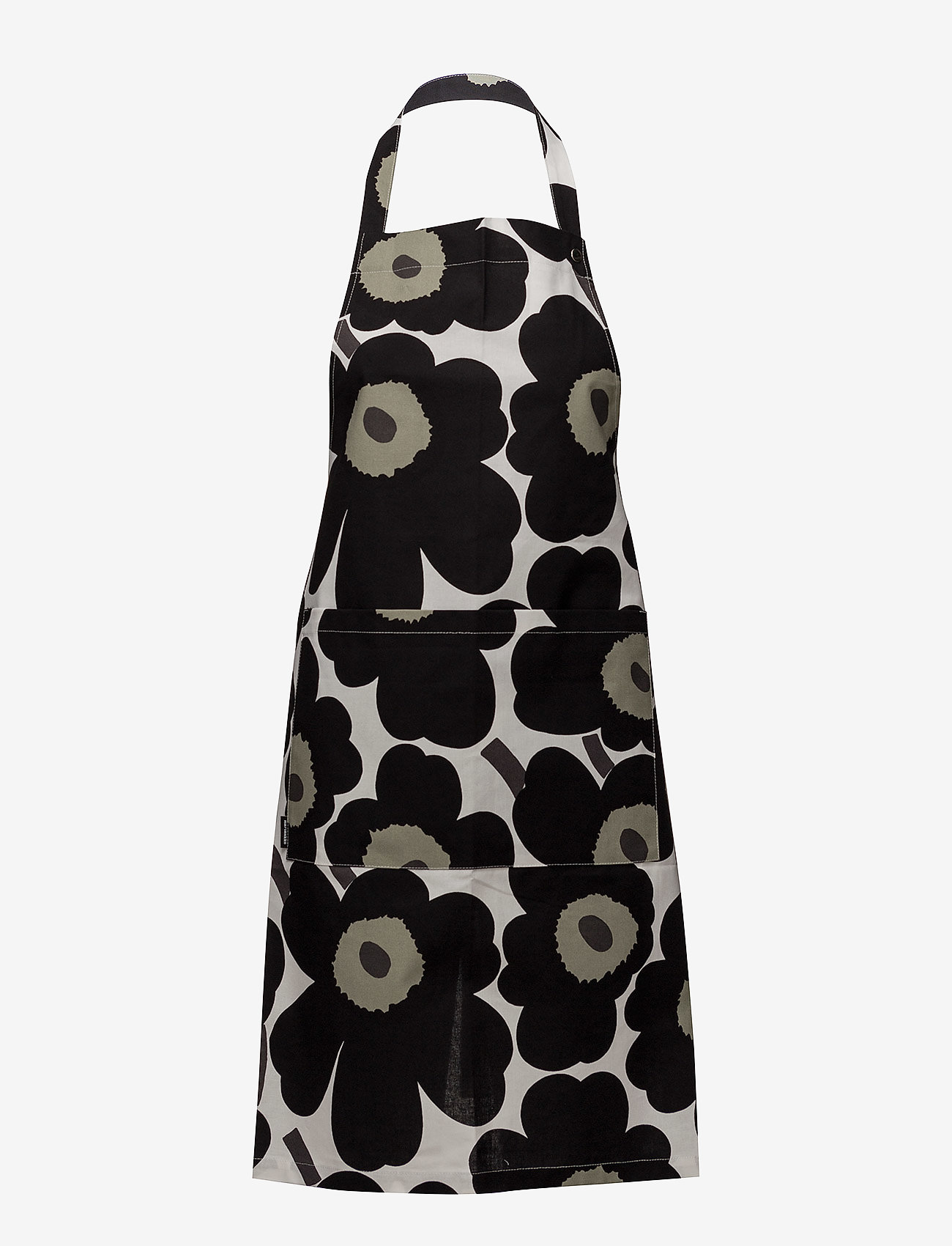 Marimekko Home - PIENI UNIKKO APRON - forklæder - white, black, olive - 0