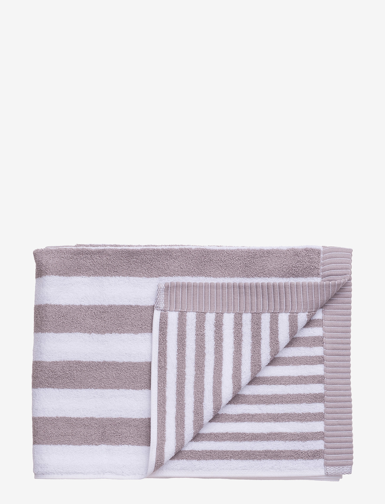 Marimekko Home - KAKSI RAITAA BATH TOWEL - ręczniki kąpielowe - grey, white - 0