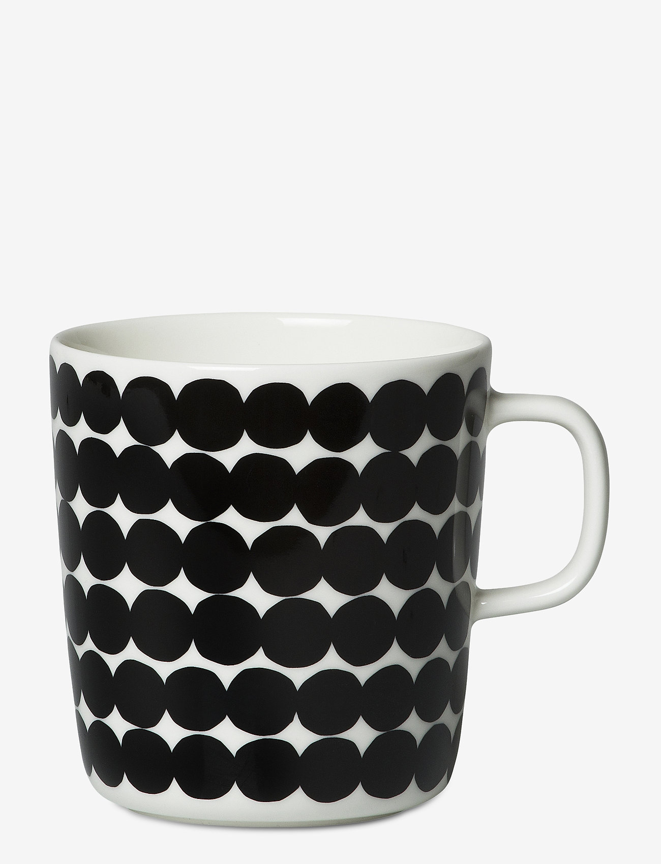 Marimekko Home - RÄSYMATTO MUG - kaffekopper - white, black - 0